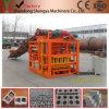 機械またはセメントの固体煉瓦作成機械を形作るQtj4-26cの半自動具体的な空のブロック