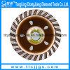 Roda de copo de moagem de diamante soldada por vácuo com flange