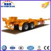Aanhangwagen de van uitstekende kwaliteit van het Nut van het Vervoer van de Container van de Haven van het Skelet 2axle