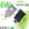 6W alle in einem Solar-LED-Straßenlaterne