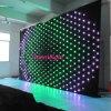 P18 3m*3m RGB3in1 Farbe, LED-Anblick-Vorhang, LED-videobildschirm, DJ-Hintergründe für Hochzeit, Stadium,