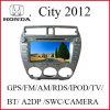 De Auto DVD van twee DIN voor de Stad 2012 van Honda (k-914)