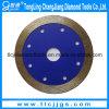 La circular concreta vio la lámina para seco usado