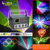 1W de Disco Party Stage Lighting van RGB Laser Show Equipment DMX DJ