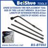 5 Piece Lug Wrench Extension Steel Kit Ferramenta de pneu de reposição Premium