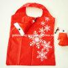 クリスマスの帽子の形のFoldableショッピング・バッグ(GR-FS-026)