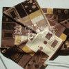 Jacquard de poliéster hilado teñido de tejido chenilla sofá