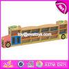 Neues Entwurfs-Karikatur-Bus-Form-multi Speicher-Regal-hölzerner Kind-Speicher-Schrank W08c208