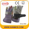 7 Handschoenen van het Werk van het Leer van het Meubilair van de Veiligheid van de Zweep van kleuren de Industriële (310013)