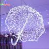 Indicatore luminoso impermeabile popolare di motivo dell'ombrello di natale della decorazione 3D di festa del LED