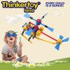 La formazione di plastica del modello dell'elicottero di DIY scherza il giocattolo