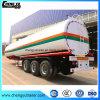 중국 제조자 스테인리스 3 차축 연료 석유 탱크 트레일러