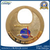 Moneda del metal del cliente de la promoción con tenis de vector