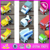 2015 commercio all'ingrosso Kids Educational Wooden Toy Car, Intelligence Children Mini Car Toy, Wooden Cars Toy con Different Styles W04A155