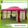 Barraca de dobramento do Gazebo do jardim 3X3m ao ar livre de luxe para o partido