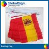 Globalsign Vente chaude drapeau du pays, Chaîne d'un drapeau, Pennant pavillon