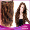 4# Natural Wave Mongolian Hair Halo Hair Extension