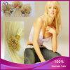 I capelli euroasiatici diritti del Virgin 613# V-Capovolgono l'estensione italiana dei capelli della cheratina
