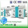 4 couleurs LDPE/PEHD Sac	Machine d'impression flexographique tambour central