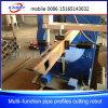 Cortador cuadrado del cartabón del tubo, cortadora del plasma para la ingeniería del petróleo
