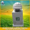 Pattumiera della pietra dell'immondizia di disegno di calcio del granito