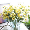 Flor artificial de la margarita rural del estilo para la boda y la decoración casera (SW17677)