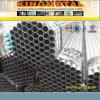 Tubo de acero galvanizado HDG sumergido caliente BS1387