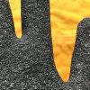С покрытием из латекса Hppe мятым эффектом Cut-Resistance безопасности рабочие перчатки