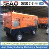 Compressor de ar de Portbale do uso do equipamento Drilling de poço de água com rodas