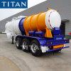 Titaan 2/3 As 19cbm de Semi Aanhangwagen van de Weg van het Zwavelzuur van de Aanhangwagen van de Tank van het Nut voor Olie/Chemische/Zure Vervoer