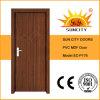 Portas de madeira contínuas do PVC do projeto o mais atrasado (SC-P176)