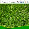 Forma de hilo de lomo verde pasto alfombra para Boda falsa mostrar