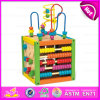 2015 più nuovo Popular Wooden Bead Abacus Maze Toy, Educational Toys per Children, Wholesale Cheap Funny Wooden Bead Maze Toy W12D024