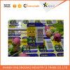 Papel de impresión de etiqueta personalizada colorido auto adhesivo para código de barras