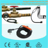 PVC Waterproof Water Pipe Heating Cable 220V mit Energie-Saving Thermostat