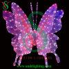 3D RGB Motif Butterfly LED Light para la Navidad Decoration