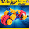 Het grappige Stuk speelgoed van het Onderwijs van de Bouwsteen van de Baby van het Kinderdagverblijf Zachte Plastic