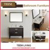 Hölzernes Modern Bathroom Design mit Mirror und Cabinet