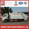 Compressione automatica dell'immondizia del camion di immondizia del costipatore di Dongfeng del camion del costipatore dell'immondizia da 8 tonnellate