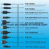 이동 전화 DVD MP3/4 PSP Camrera를 위한 1대의 비용을 부과 책임 케이블 접합기에 대하여 보편적인 다기능 다중 Pin USB 충전기 케이블 10