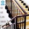 La alta calidad creó la barandilla/la cerca de acero de la escalera del cinc labrado