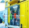 Tramoggia Port Equipted con la macchina per cucire di insaccamento