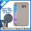 0.3mm delgado Claro Soft TPU para la galaxia S6 Edge