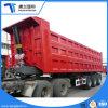 Hydraulische Cilinder 3 As 35 van de Fabriek van China de Kubieke Stortplaats die van de Vorm van U van de Meter Semi Aanhangwagen tippen