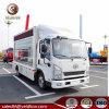 FAW 4X2 de la publicité de plein air chariot 5 tonnes véhicule affichage LED