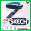 Logo를 가진 공장 Direct Sale 관례 Friendly Nylon Branded Woven Lanyard