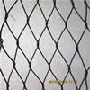 Maglia nera della fune metallica dell'acciaio inossidabile di ossidazione per la maglia del giardino zoologico