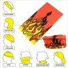 다기능 공장 부피 생성에 의하여 주문을 받아서 만들어지는 폴리에스테 이음새가 없는 담황색 Headwear