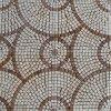 Mattonelle di pavimento rotonde del mosaico della pietra del marmo del modello (HSM136)