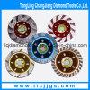 Непрерывный абразивный диск диаманта чашки Turbo для фарфора
